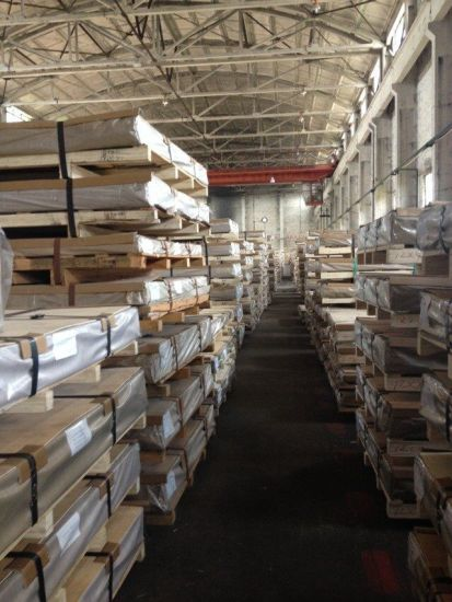 1050/1060/1100/3003/3105/5052/5754/5083/5182/6061/7075/2024 Aluminum Sheet Plate pictures & photos