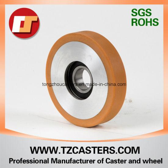 Polyurethane Wheel with Aluminum Center 90*18