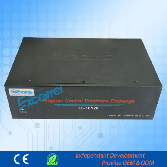 Epbx 16 FXO up to 120 FXS Metal PBX with Billing System PBX pictures & photos