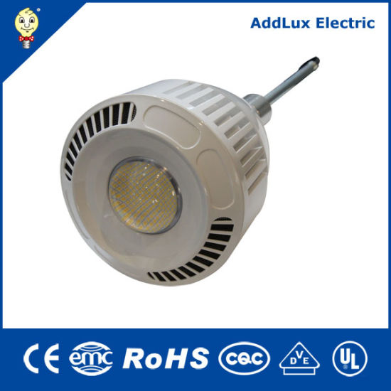 UL cUL FCC RoHS Ce 208V 277V 115W 150W Line Connected HID LED Bulb Lighting Made in China for Office, Supermarket, Store, Workshop, Warehouse Exterior Lighting
