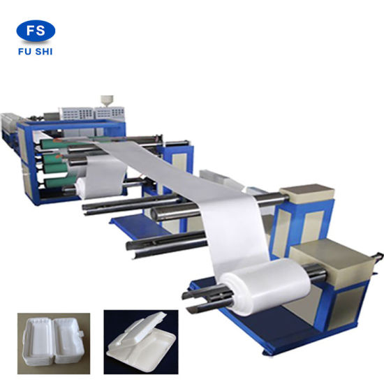 Quality Assurance ISO Plastic PS Foam Sheet Extrusion Machine pictures & photos
