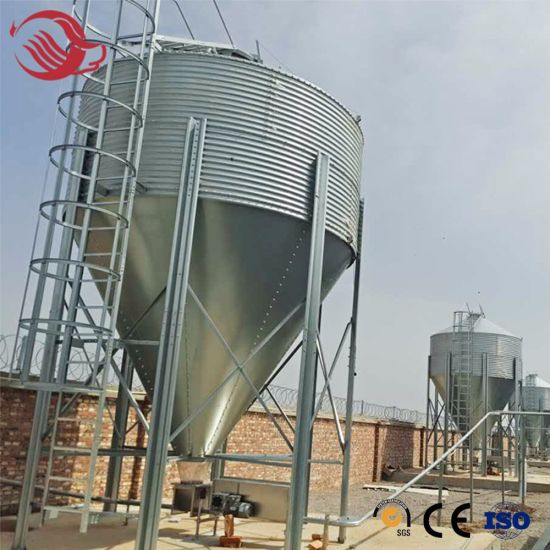High Quality Customized Poultry and Pig Farm Feeding Line Feed Silo