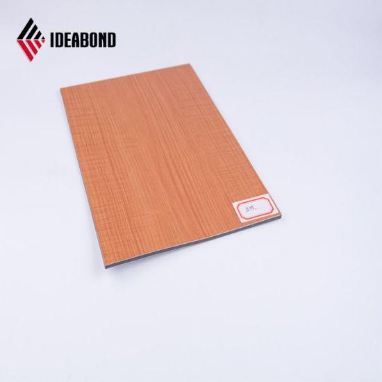 China Ae 306 Decorative Wood Finish Aluminum Composite Panels For