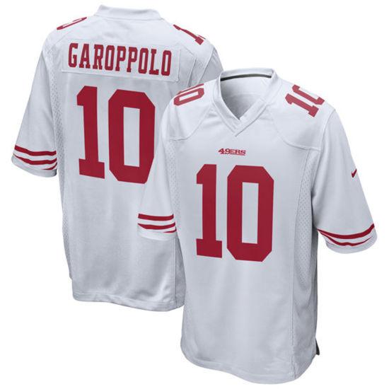 new concept 3bc07 f0e8f Men Women Youth 49ers Jerseys 10 Jimmy Garoppolo Football Jerseys