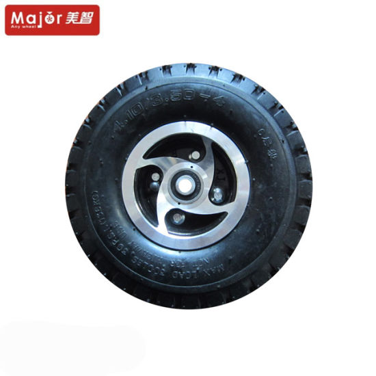 Inflatable Rubber Wheel, Rubber Wheel; Special Aluminum Wheels, Pneumatic Wheel Spokes pictures & photos