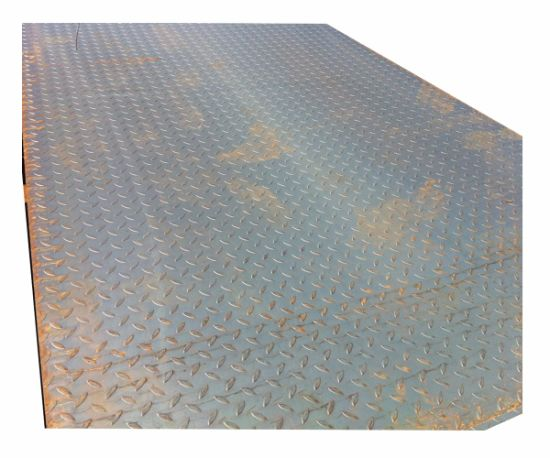 Steel Material A36 Hot Rolled Carbon Steel Plate Ms Checkered Plate Sheet Price