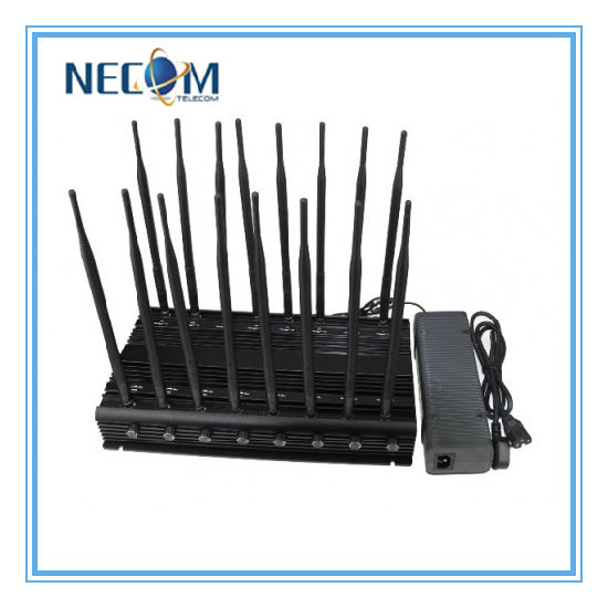 16 Bands Signal Jammer, Lojack Jammer - GPS Jammer - 2g 3G Cell Phone Jammer, Mobile Cell Phone Signal Jammers Isolators Jammer pictures & photos