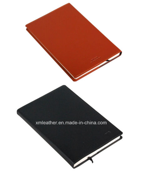 Hardcover A5 Personalised Leather Notebook