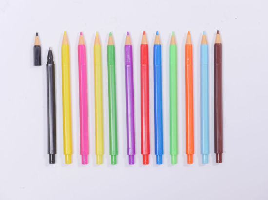 Click Gel Pen with Colorful Color pictures & photos