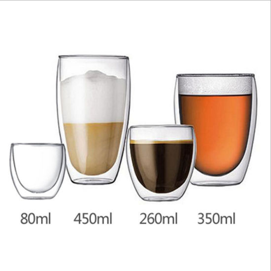 3oz, 9oz, 12oz, 16oz Bodum Borosilicate Glass Coffee Tea Mug