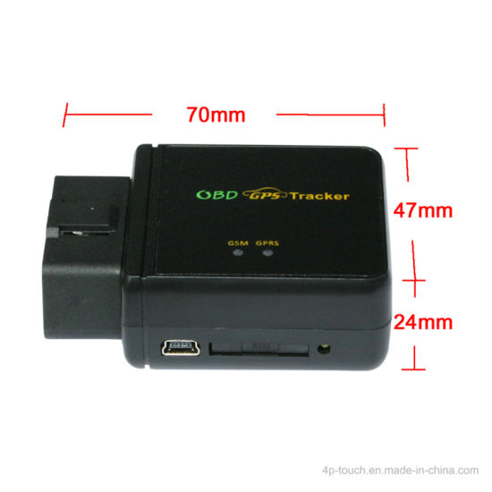 Global 2g/GSM Frequency Band Obdii GPS Tracker for Vehicle Tr-803c pictures & photos