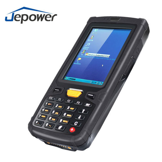 Windows Ce 6.0 Barcode Scanner Wireless Win Ce PDA for Warehouse Inventory Supermarket pictures & photos