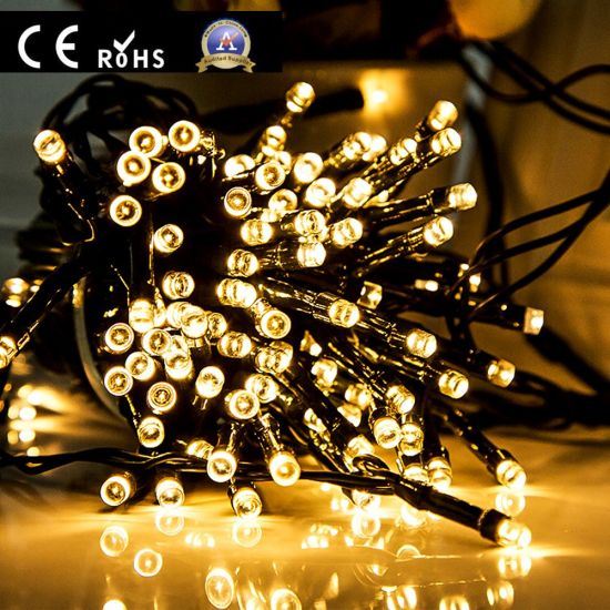 Led Ip67 Outdoor Christmas Decoration Rubber Cable String Lights