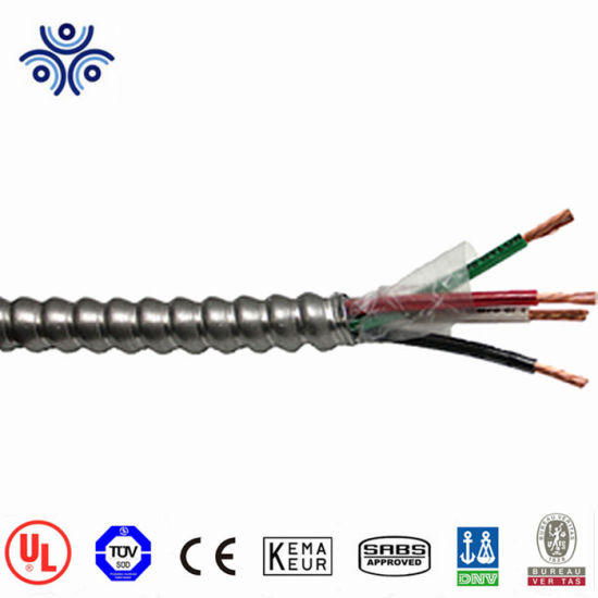 China UL Certificate 1/0 2/0 4/0 500mcm Mc Cable Aluminum Alloy or ...
