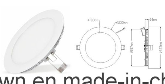 Ultra-Slim Round LED Panel (Blister pack) pictures & photos