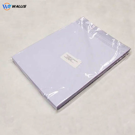 Digital A4 A3 Rigid PVC Polyester Milky White Sheet for Making Card