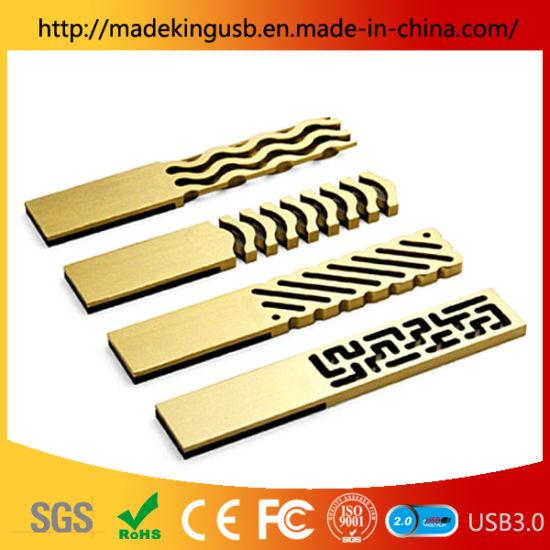 Retro Chinese Style Metal Simple Brass USB Flash Drive/Window Flower USB Stick