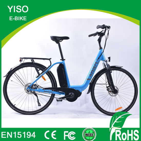 26inch 48V 1000W Power Bafang MID Driver Beach Electric Bike