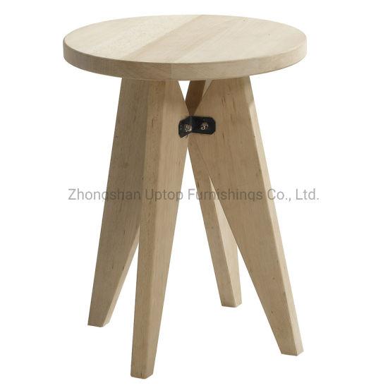 Strange Wholesale Minimalist Scandinavian Round Wooden Stool Sp Ec746 Ibusinesslaw Wood Chair Design Ideas Ibusinesslaworg