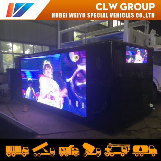 Outdoor LED Advertising Truck Upper P4 P5 P6 LED Truck Super Structure