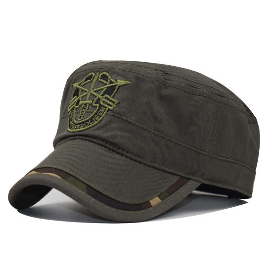 China Supplier Embroidery Sports Washed Baseball Cap Without Top Button
