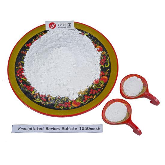 Precipitated Barium Sulfate Baso4 for Plastics