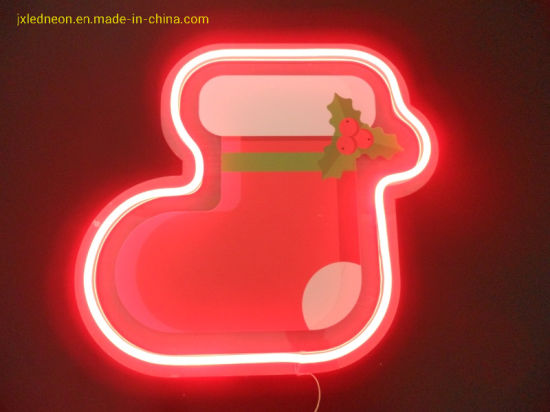 Motif Lighting Holiday Decoration Lamps LED Neon Tube Light