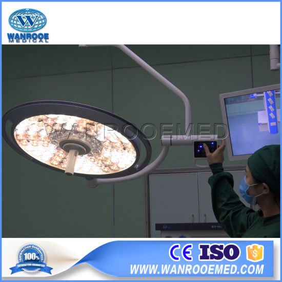 Medical Surgical Instrument Operating LED Shadowless Operation Room Theatre Light Lamp with Ceiling