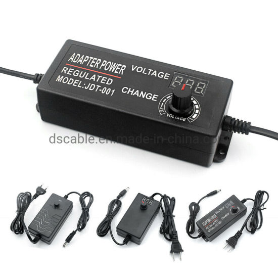 Universal Adjustable AC//DC Switching Power Supply Adapter 3-12V 2A Or 9-24V 1A