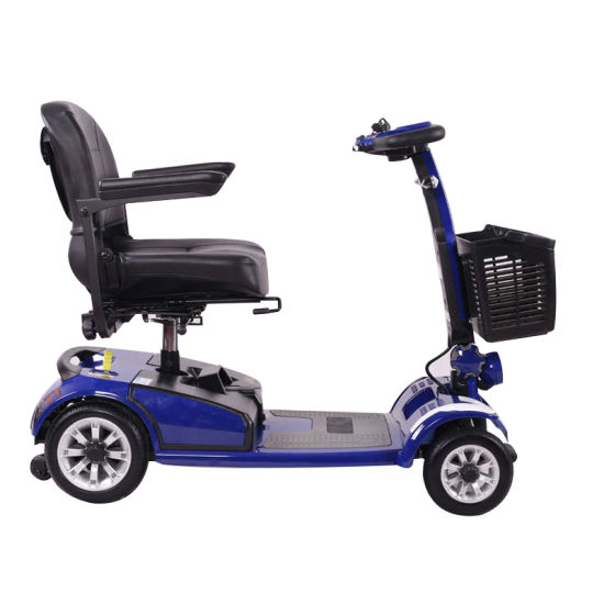 2019 Foldable Mobility Scooter Mini 4 Wheels Smart Electric Scooters