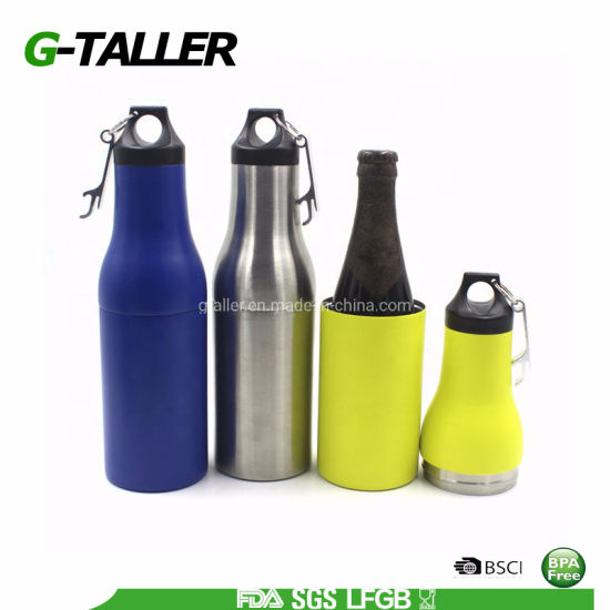 Food Grade Double Wall Stainless Steel Water Bottle Cooler