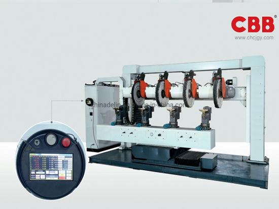 Four Working Station CNC Metal Polishing Surface Finishing Machine for Zinc or Aluminum Products