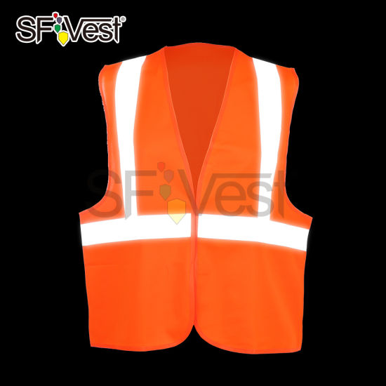 Safety Clothing Work Wear High Visibility Reflective Warning Safety Vest