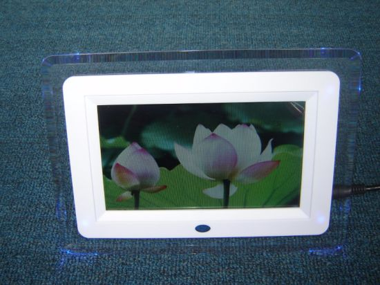 China 10 Inch LCD Photo Video Display Stand Digital Picture Frame ...