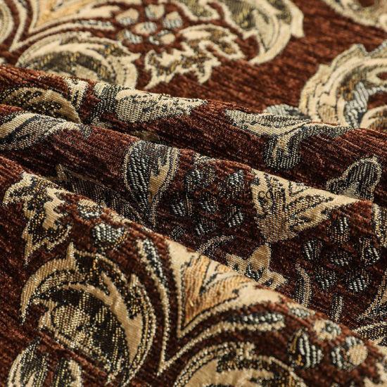African Custom Beautiful Design Chenille Fabric Upholstery