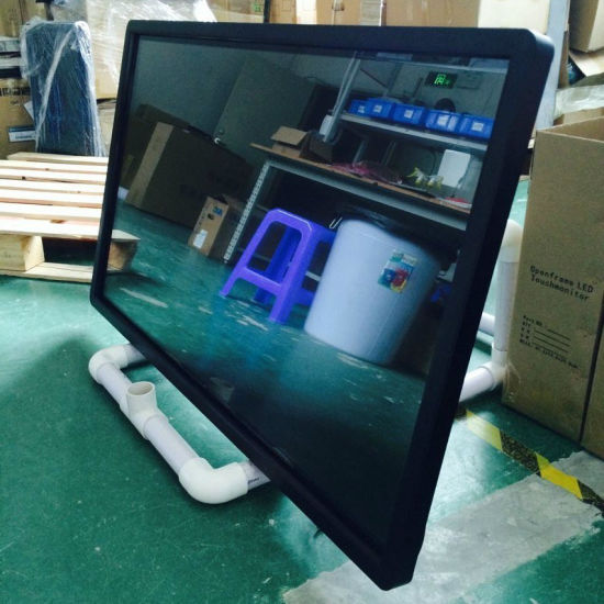LCD Display Floor Standing 43 Inch Touch Screen Monitor pictures & photos
