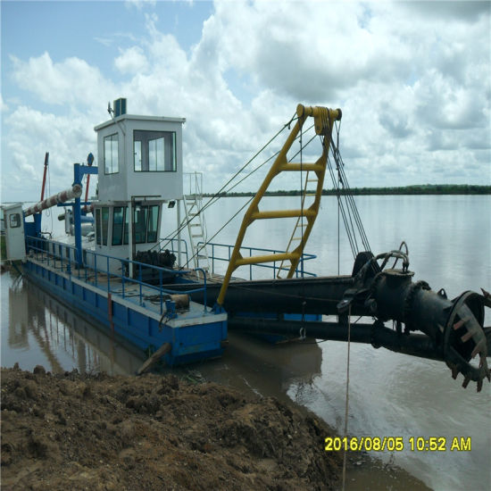 Hydraulic Sand Mining Mud Suction Cutter Suction Dredger
