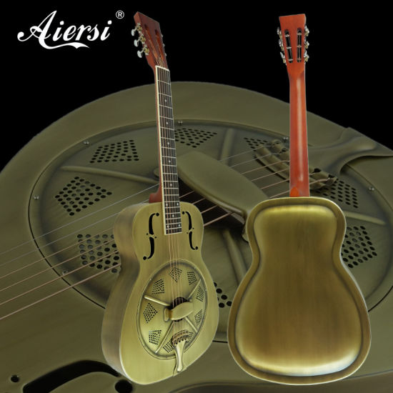 Acoustic Size Bell Brass Musical Instrument Resonator Guitar