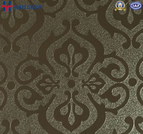 Huaye Stainless Steel Sheet Embossed Decorative Color for Home Decor pictures & photos