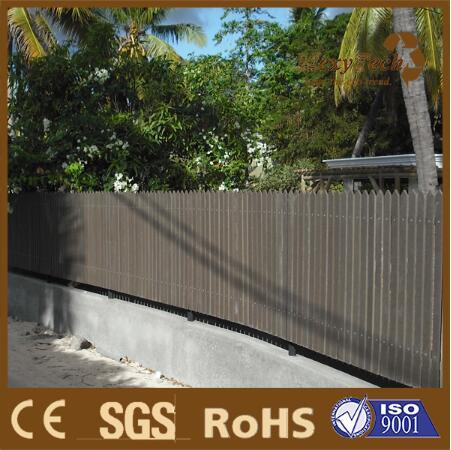 Outdoor Garden Wood Plastic Composite Fence Panel and Trellis pictures & photos