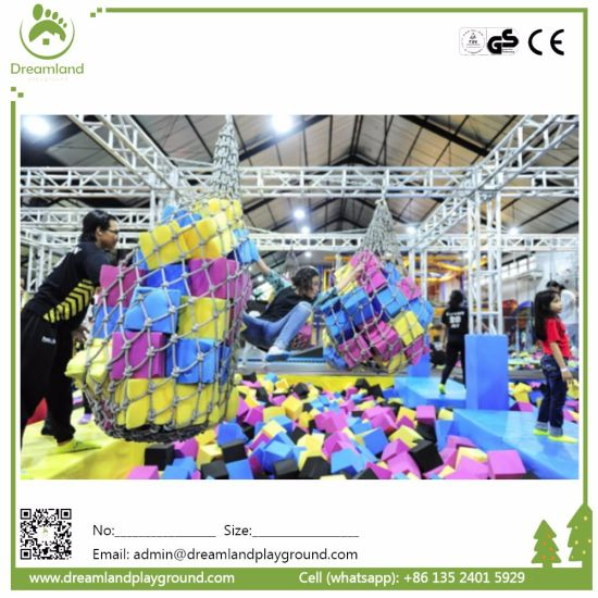 TUV Approval Trampoline Park Indoor Foam Pit Cube pictures & photos