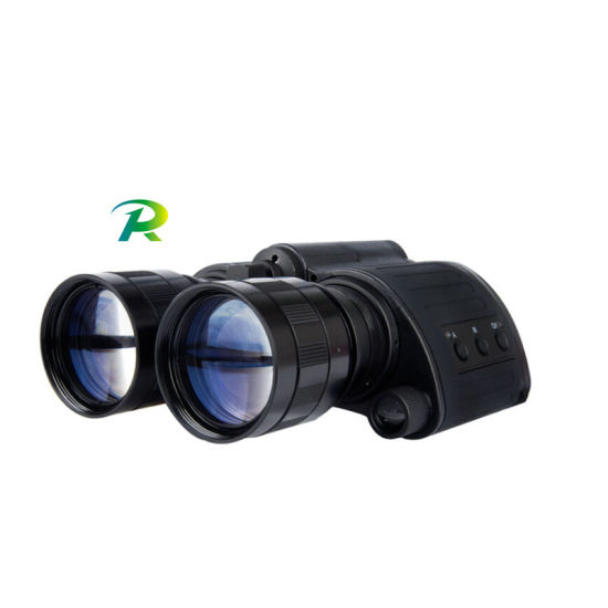Military Infrared (IR) Night Vision Binoculars with Objective Lens Adjustment - Daking′s Tracker (D-B1105-B) pictures & photos
