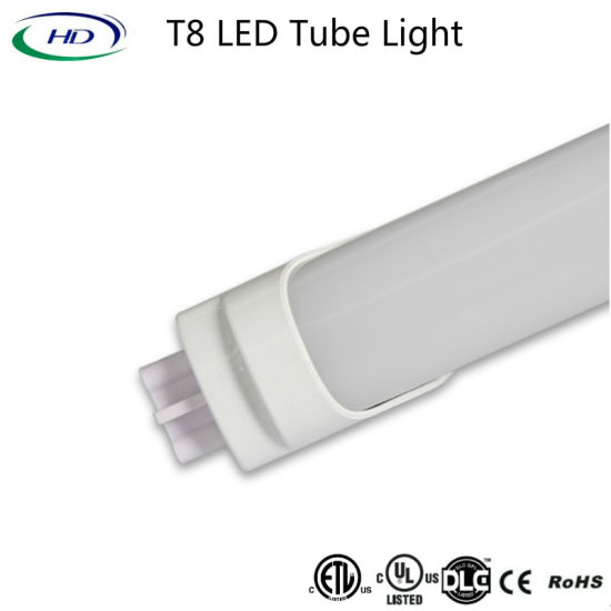 18W 4FT Ballast Compatible LED Tube Light with UL Dlc pictures & photos