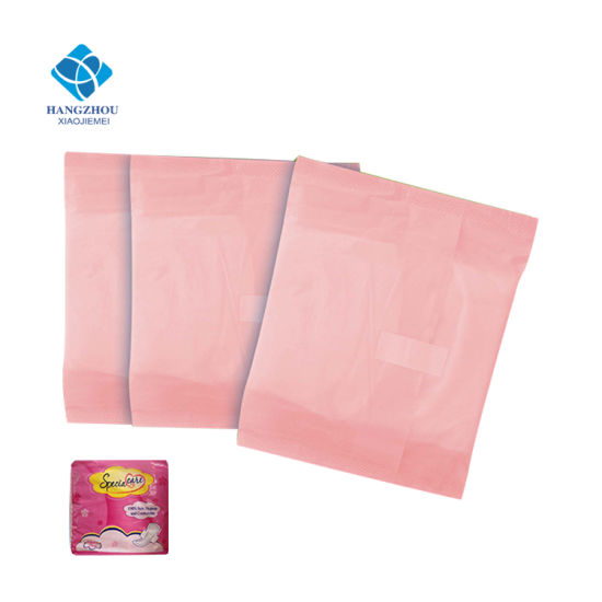 230mm Breathable Free Sample Disposable Lady Biodegradable Sanitary Pad with Wings for Day Night Use pictures & photos