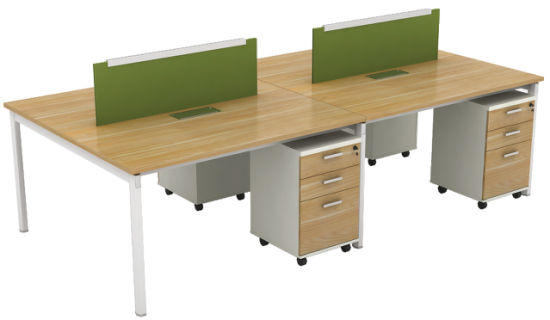 New Design Office Furniture Modular Office Desk Workstation For 4 Person