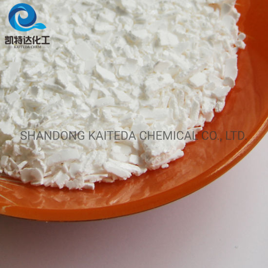 Snow Melt Calcium Chloride Dihydrate 74% 77% Gray White Flakes