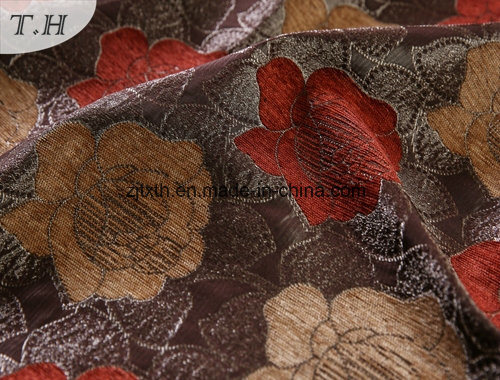 Floral Design Jacquard Colorful Slipcovers (FTH31866) pictures & photos