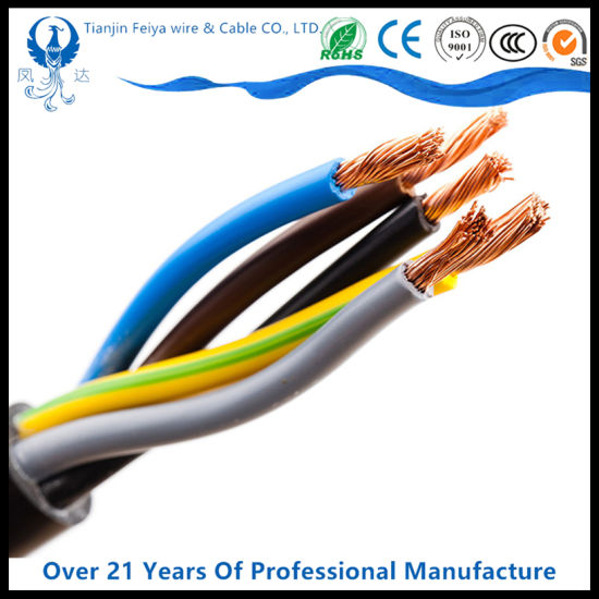 PVC Insulated Copper Conductor Factory Price Electric Wire Cable pictures & photos