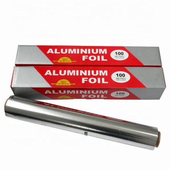 Food Grade Aluminum Foil Rolls Household Kitchen Use pictures & photos