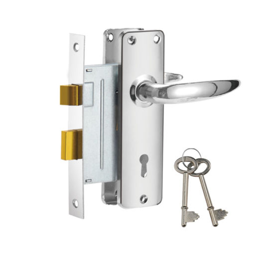 China Interior Double Door Handles Lock Mortise Lock Set Security
